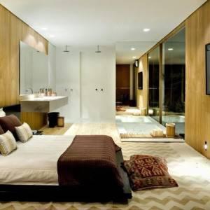 quartos de casal decorados com com armário eselhado