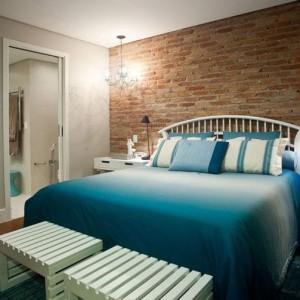 quartos de casal decorados com colcha