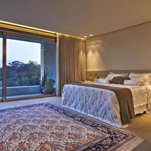 quartos de casal decorados com tapete decorado