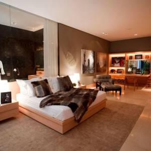quartos de casal decorados grandes