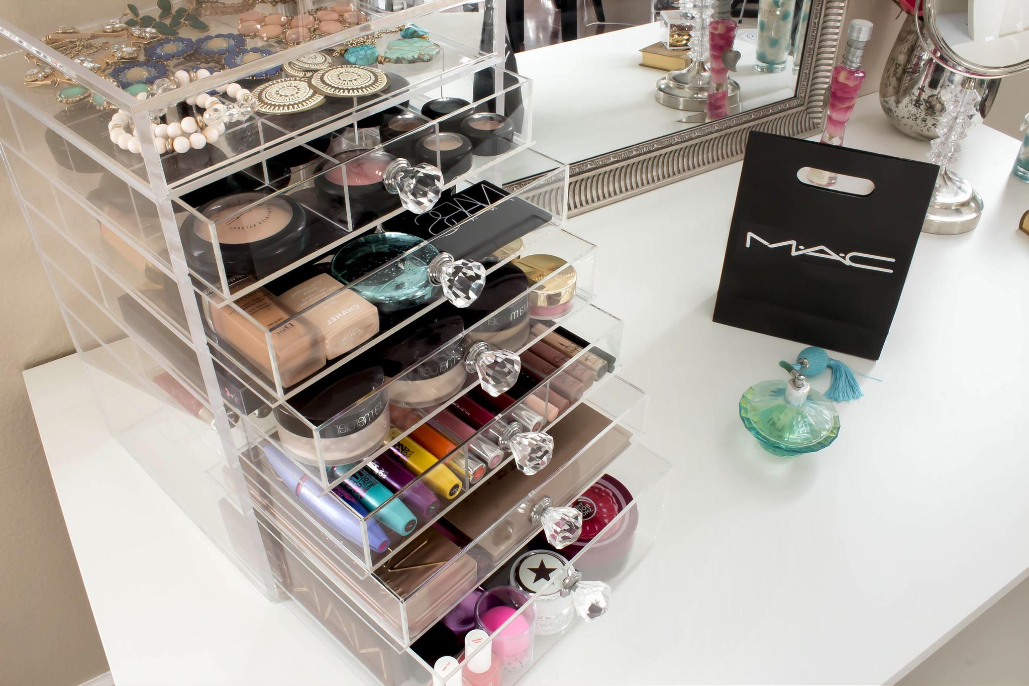 organizar maquiagem gaveteiro