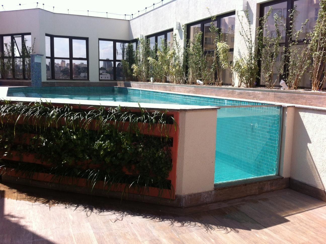 Piscinas pequenas dicas de decora o para dar um show - Tipos de piscinas para casas ...