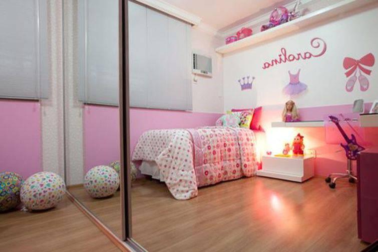 quarto infantil com tema balé