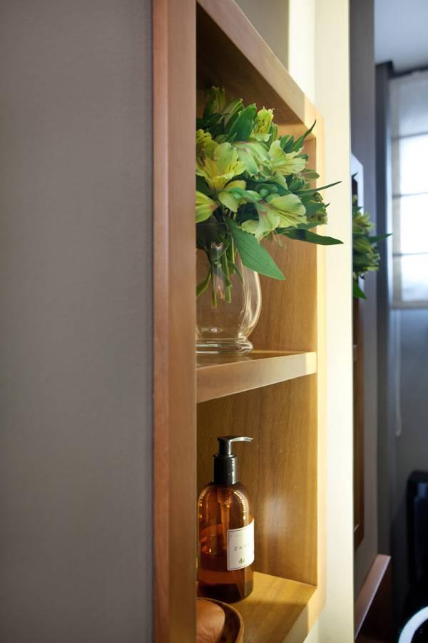 Lavabo Detalhe apartamento pequeno