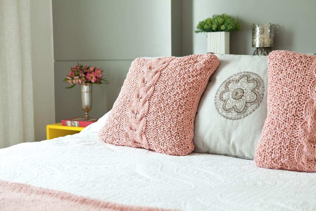 Quarto Detalhe apartamento pequeno liliana