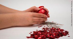 Bolas de Natal passo a passo 10