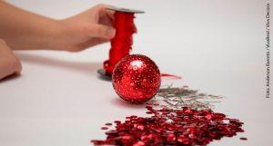 Bolas de Natal passo a passo 7