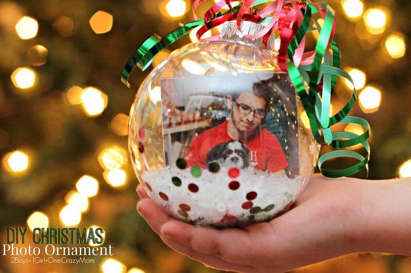 bolas de natal com foto Christmas-Photo