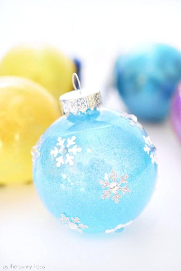 bolas de natal princesa elsa