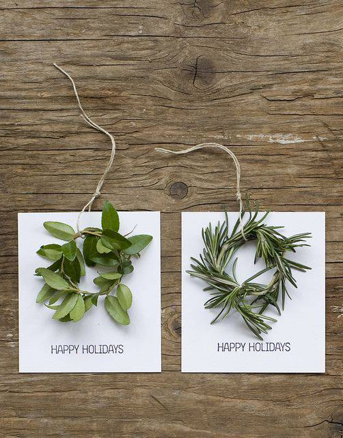 decoração de ano novo - guirlanda louro e alecrim
