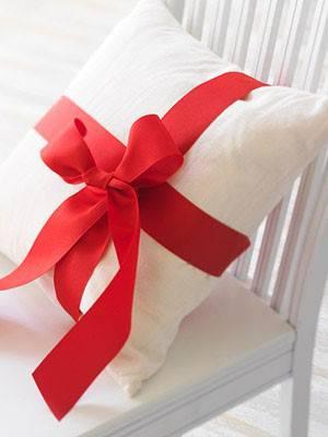 diy natal almofada de presente