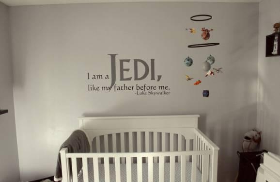 decoração star wars quarto infantil