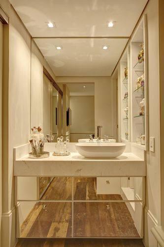 10 Dicas para Armário de Banheiro com + de 40 Fotos Incríveis -> Armario De Banheiro Oval