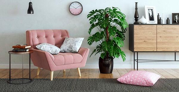 poltronas decorativas para o ambiente de casa
