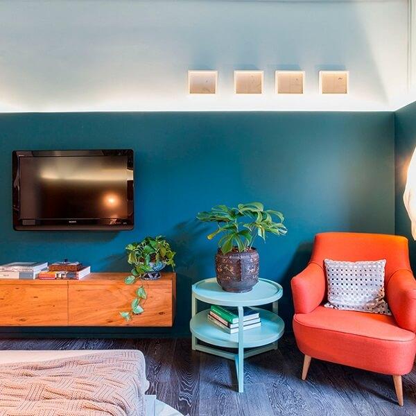 poltronas decorativas para o quarto