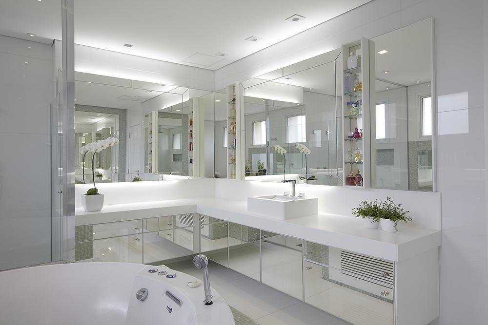 Artesanato Com Eva Flores ~ 10 Dicas para Armário de Banheiro com + de 50 Fotos Incríveis