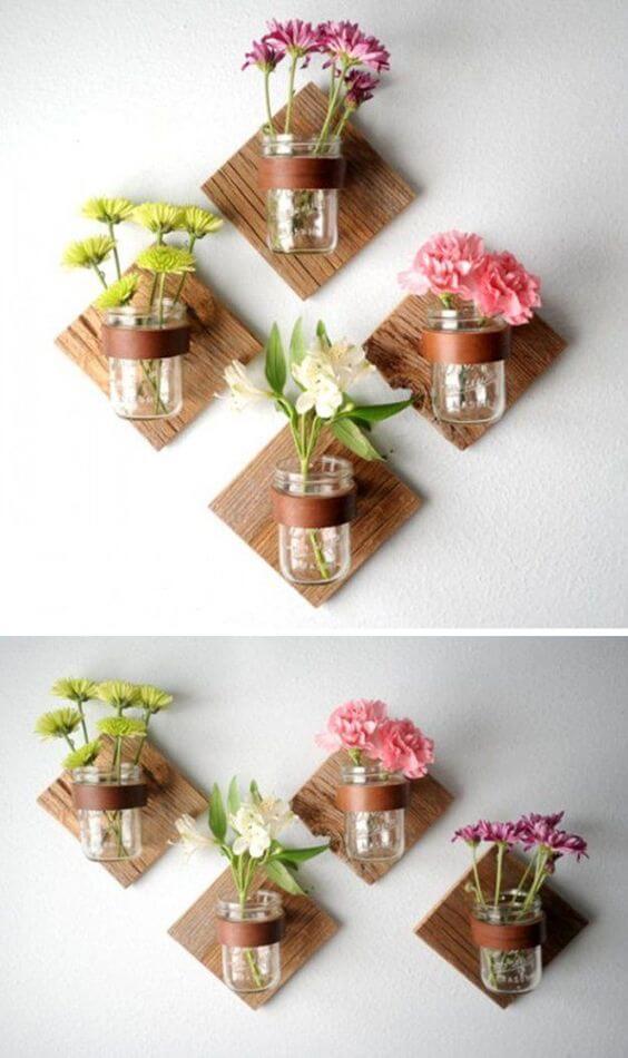 faça você mesmo decoração vasos