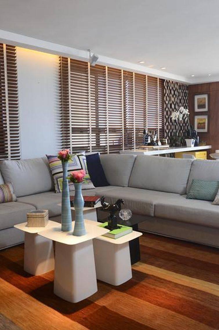 Escolha o tecido que mais lhe agrade para o seu sofá em L