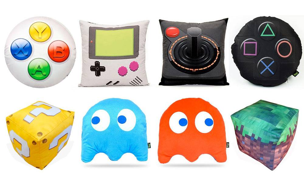 Almofadas diferentes -para-nerds-e-geeks