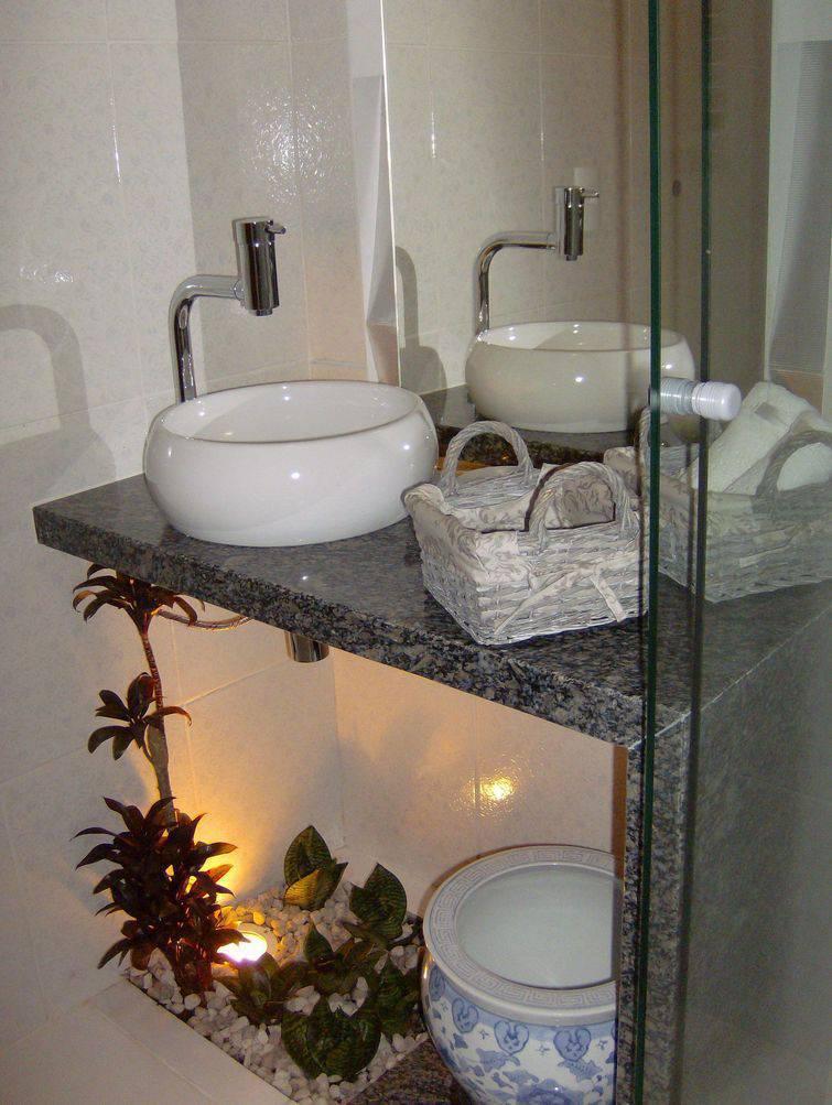 31 Modelos de Cuba para Banheiro de diversos estilos -> Cuba Banheiro Grande