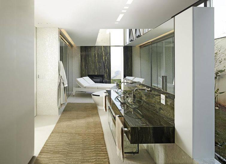 97 Banheiros decorados com Eficiência e Cuidado -> Cuba Banheiro Grande
