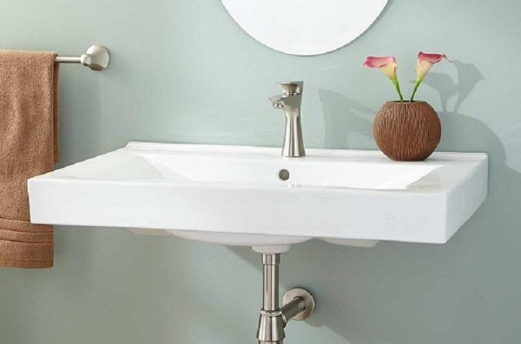 Cuba para banheiro de parede