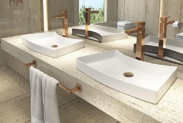 Cuba para banheiro de sobrepor