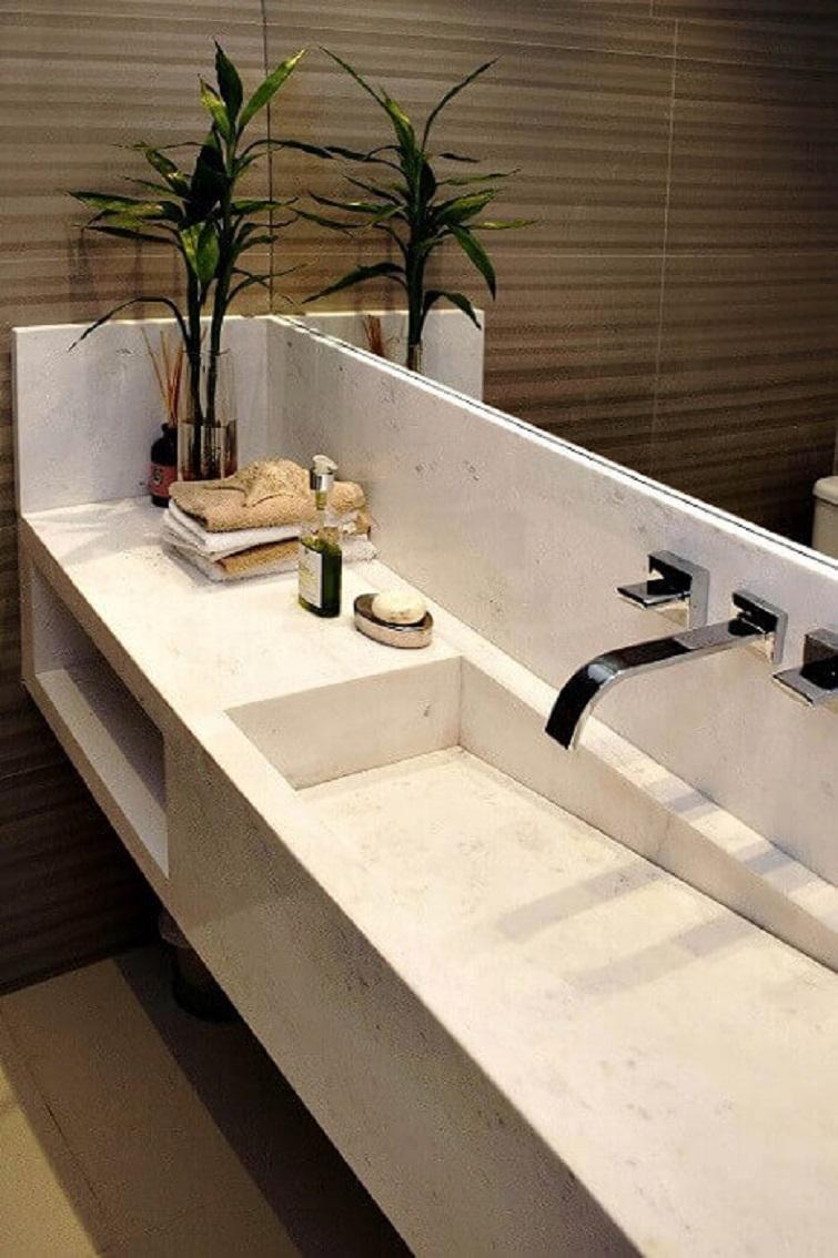 Cuba para banheiro lavavo