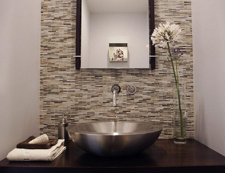 Cubas para banheiro de inox