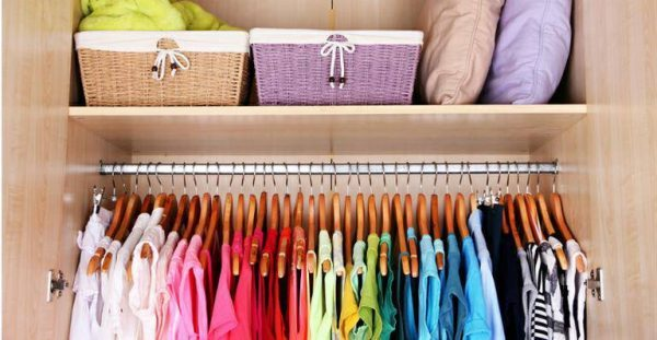 organizar guarda roupa de vez