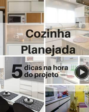video cozinha planejada