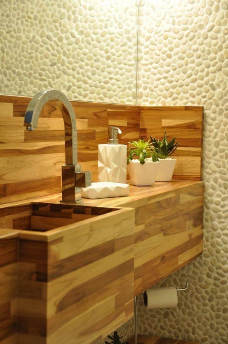 97 Banheiros decorados com Eficiência e Cuidado -> Cuba De Banheiro Roxa