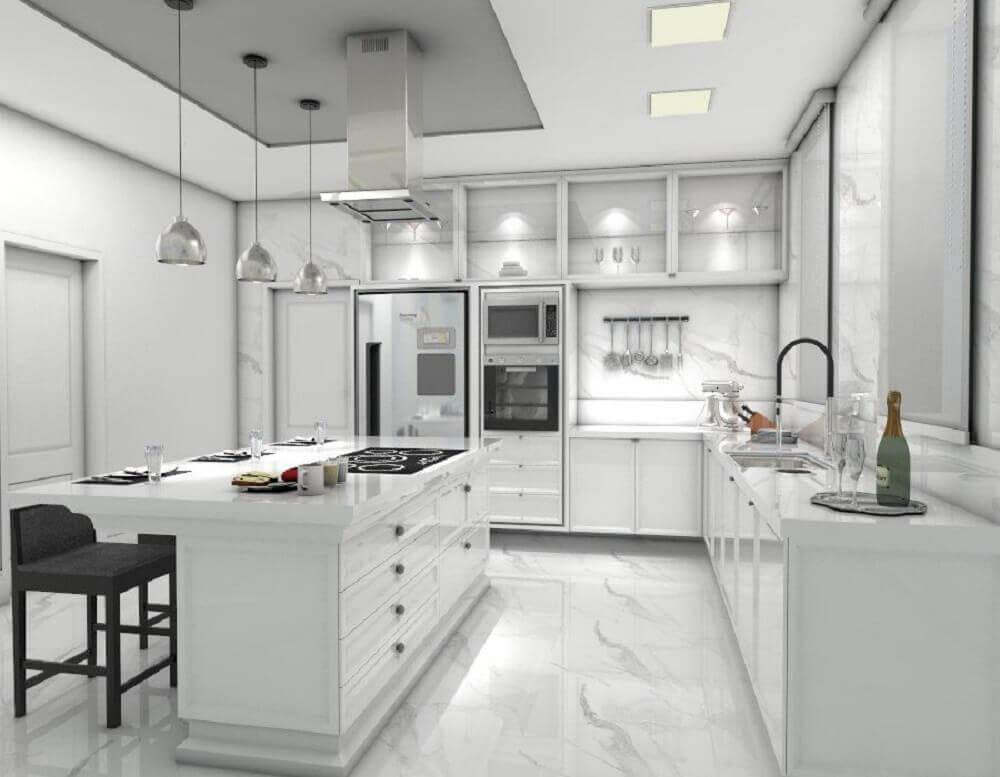 cores para cozinha neutra