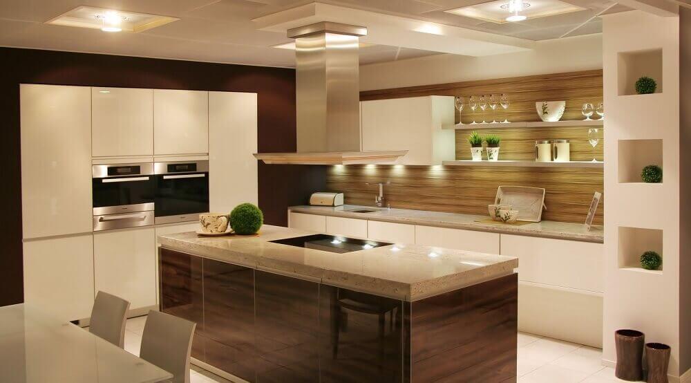 cozinha sofisticadas com cores neutras