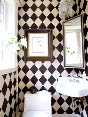 decoração alice no país das maravilhas banheiro