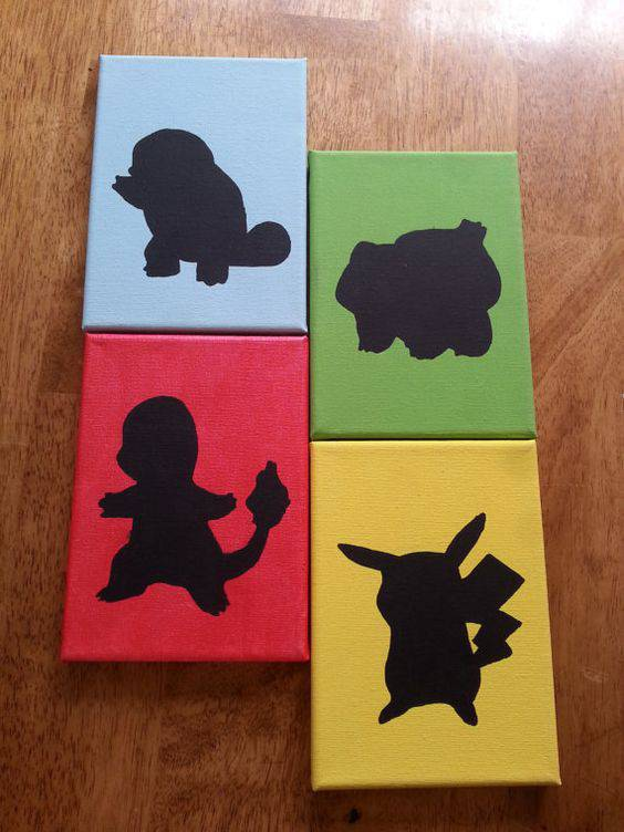 decoração geek pokemon