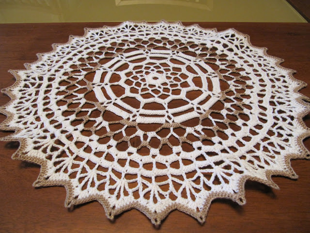 tapete de barbante croche mandala