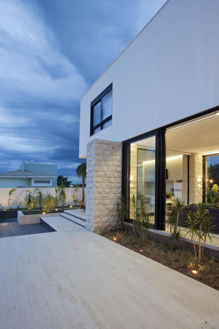 100 modelos de casas para inspirar o seu projeto for Modelo de casa de 4x6