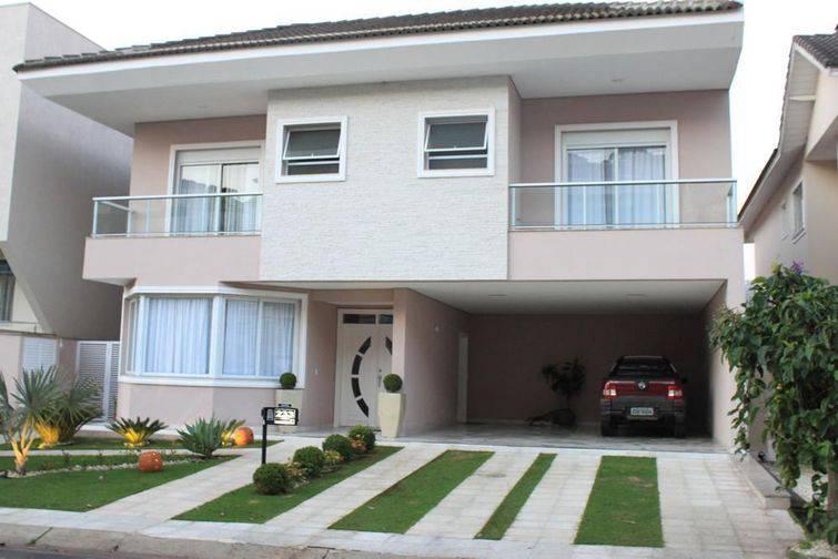 100 modelos de casas para inspirar o seu projeto for Modelos de sala de casa