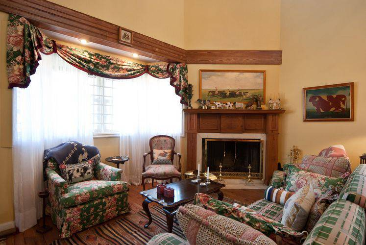 86 cortinas para sala ficar um ambiente lindo - Cortinas para casa de campo ...