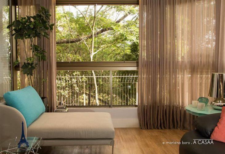 86 cortinas para sala ficar um ambiente lindo - Diferentes modelos de cortinas para sala ...