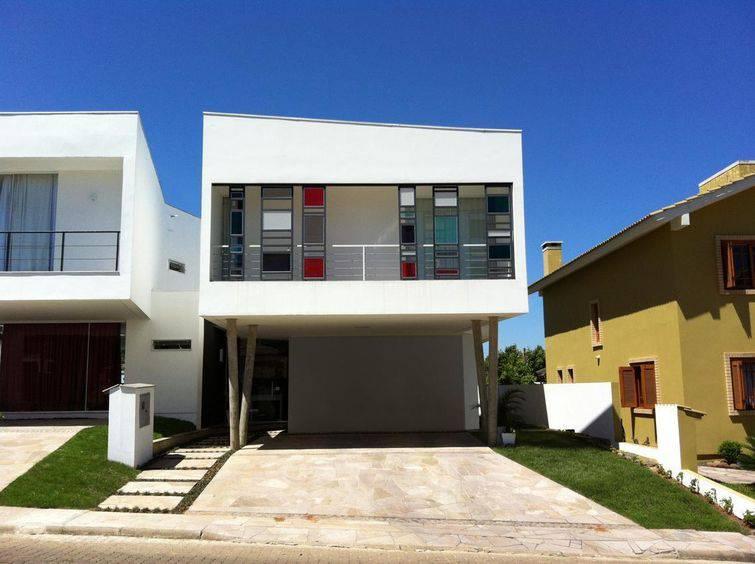 100 modelos de casas para inspirar o seu projeto for Modelos de fachadas para casas