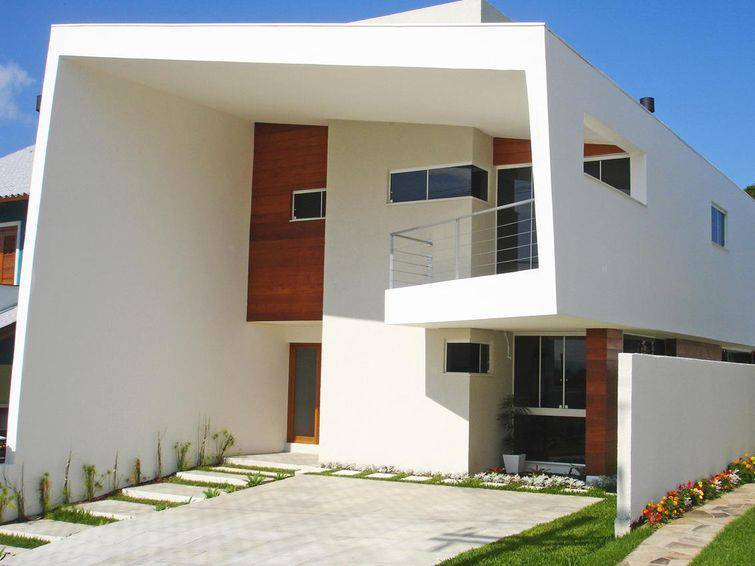 100 modelos de casas para inspirar o seu projeto for Modelos de casas minimalistas pequenas
