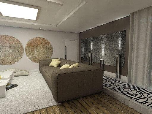 Quadros para sala em formatos diferentes Projeto de Ednilson Hin
