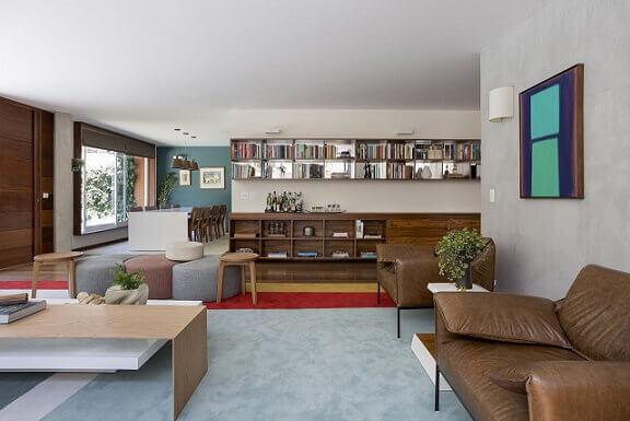 Quadros para sala nos ambientes diferentes Projeto de Diptico