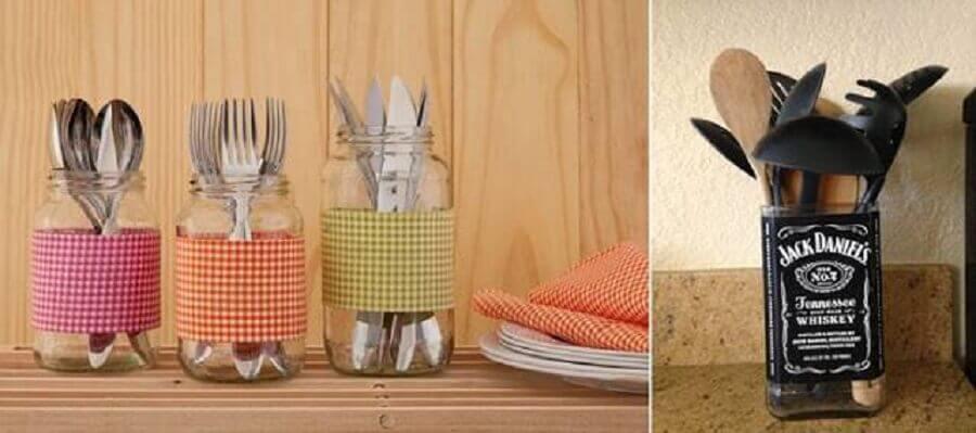 enfeites para cozinhas com vidro