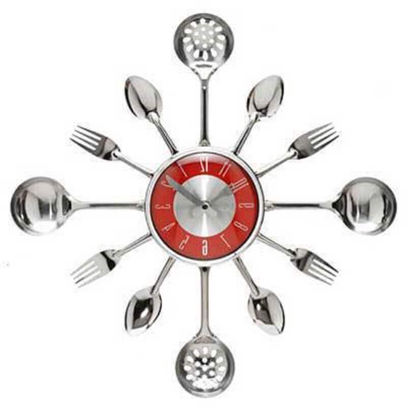 relógios para cozinha enfeites para cozinhas