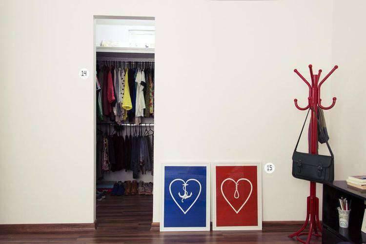 CLOSETS PEQUENOS para organizar suas roupas e calçados