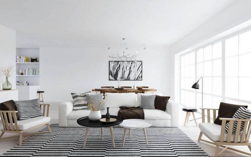 tapetes para sala-sala-de-estar-viva-decora