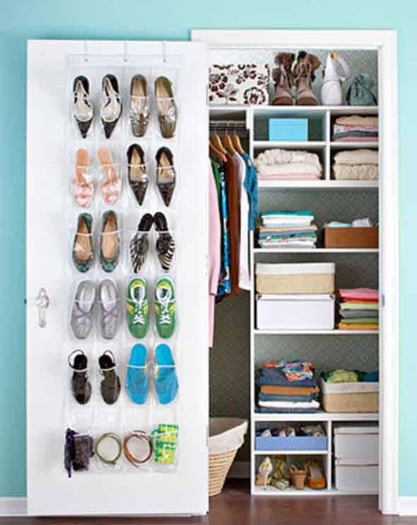 Closet pequeno para quarto pequeno